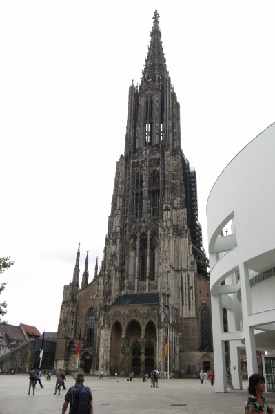 The tallest church spire in Germany
