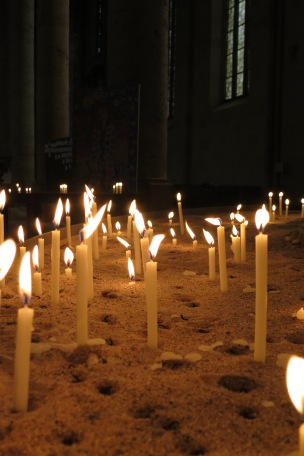 Candles in the Münster