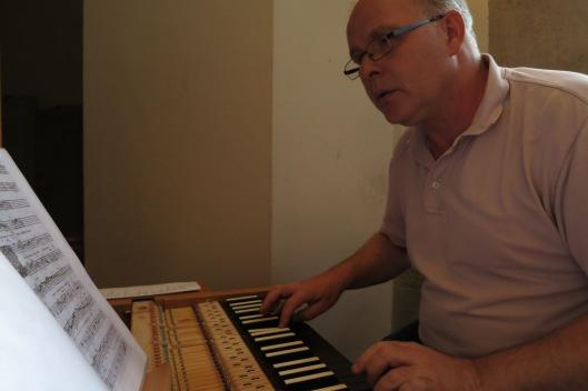 A smaller organ at Ulm Münster--much smaller!