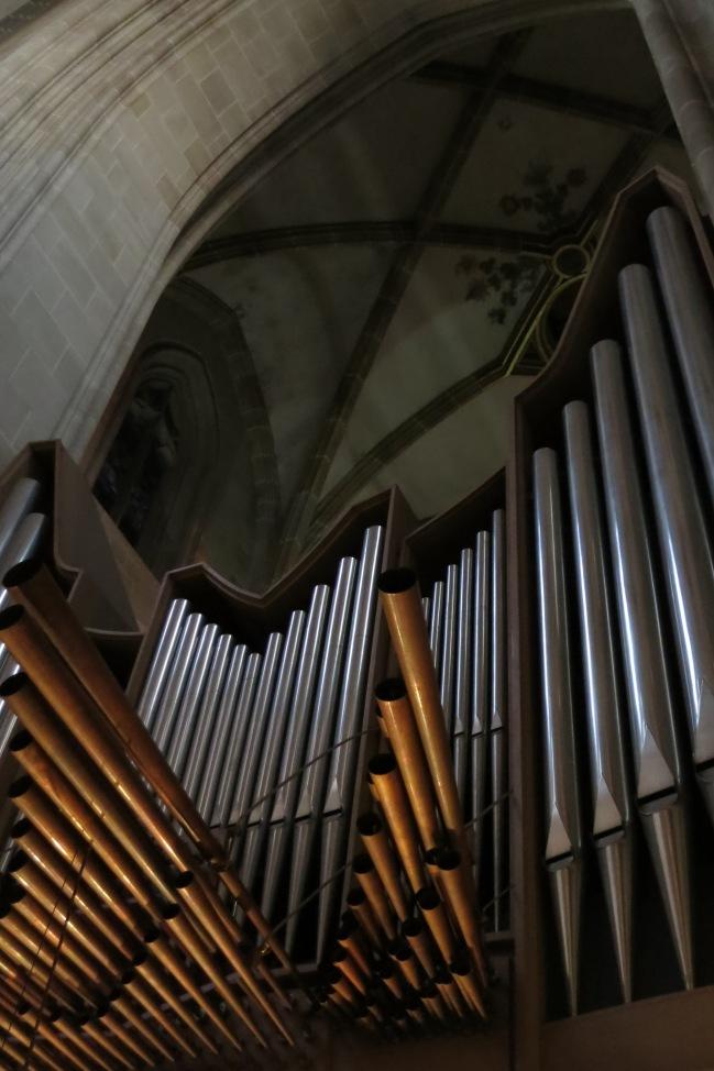 More of the Ulm Münster organ