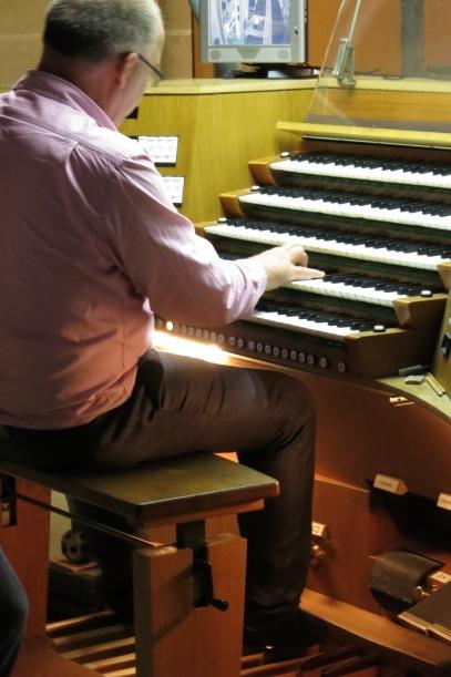 The huge Ulm Münster organ