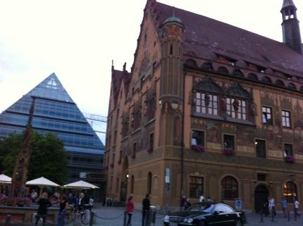 Ulm town centre