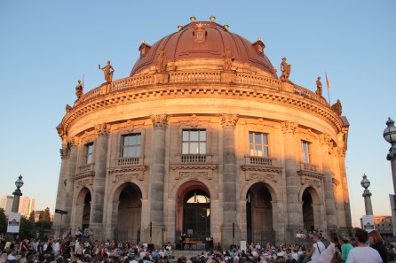 Sunset over the Bode Museum